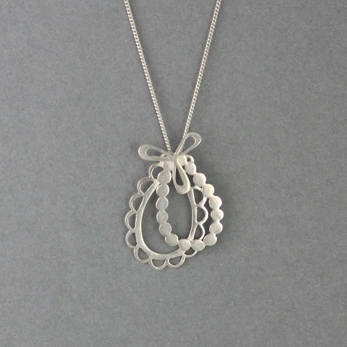 Ava Necklace Silver