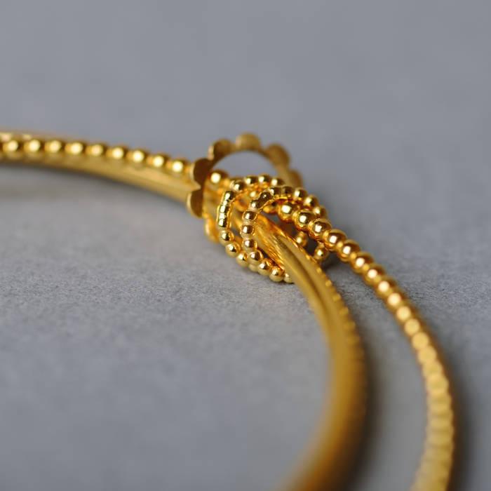 Betty Bangle Gold Detail 2