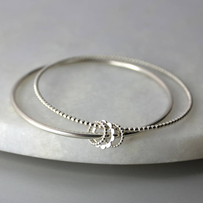 Betty Bangle Silver