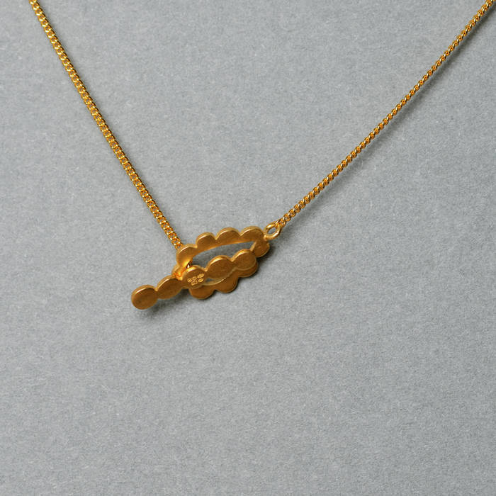 Gold Necklace Catch