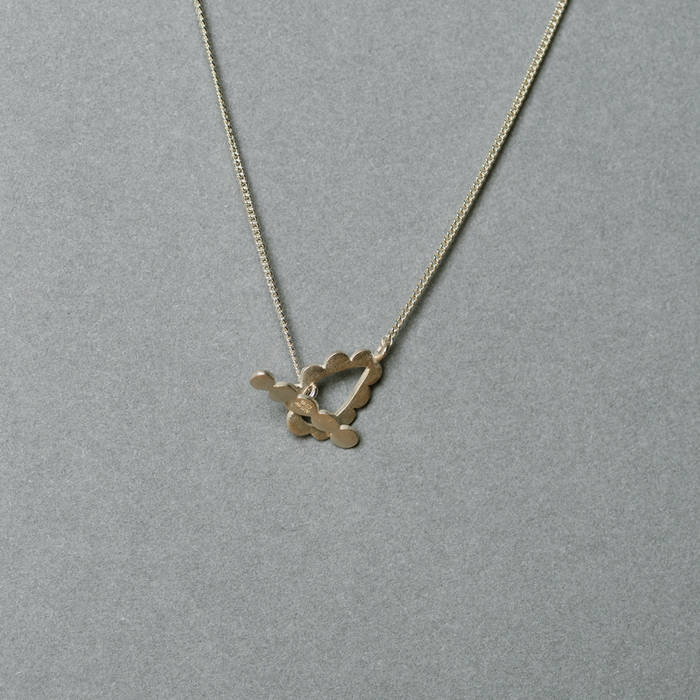 Silver Necklace Catch