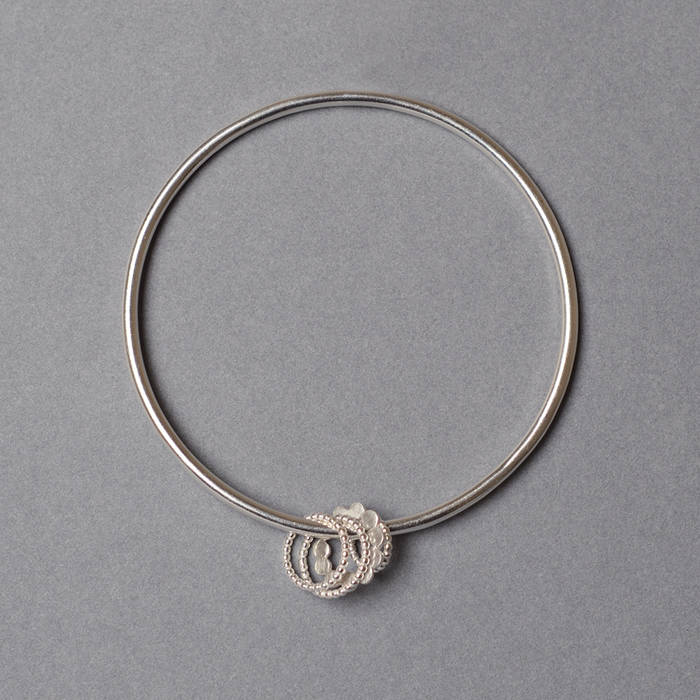 Doris Bangle Silver