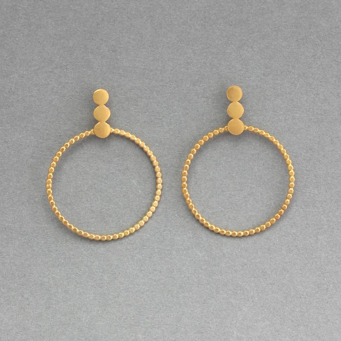 Elsie Hoops Gold