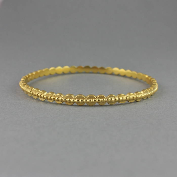 Etta Bangle Gold Detail 1