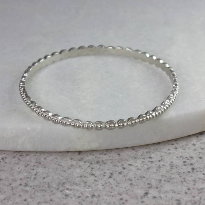 Ls Etta Bangle Silver