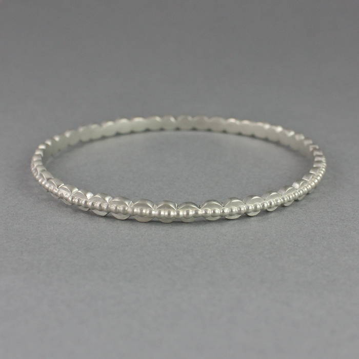 Etta Bangle Silver Detail 1