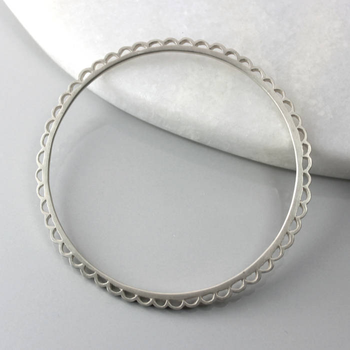 Florence Bangle Silver LS