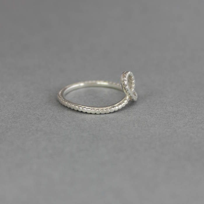 Hope Ring Side Silver