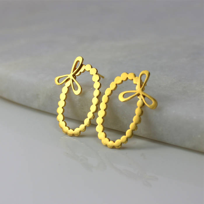 Isla Earrings Gold