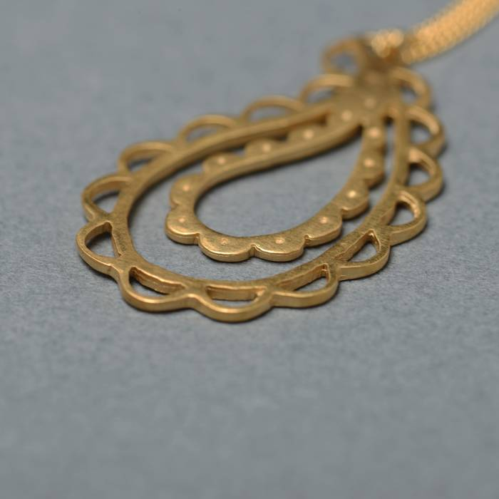 Jasmine Necklace Gold Side