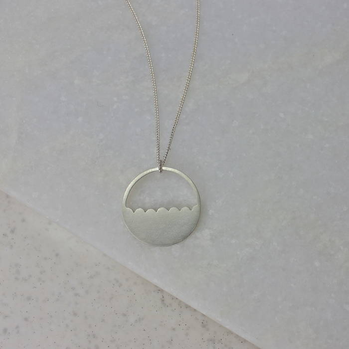 Ls Silver Lois Necklace