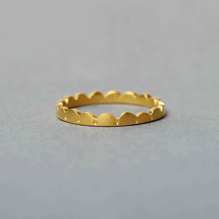 Lola Ring Fine Gold Side