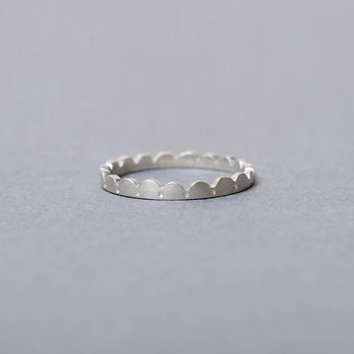 Lola Ring Fine Silver Side