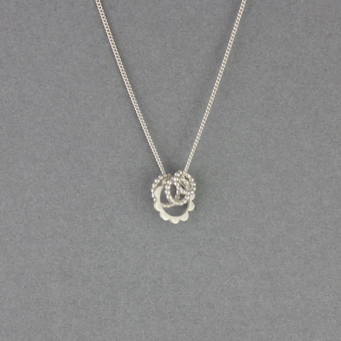 Lulu Necklace Silver