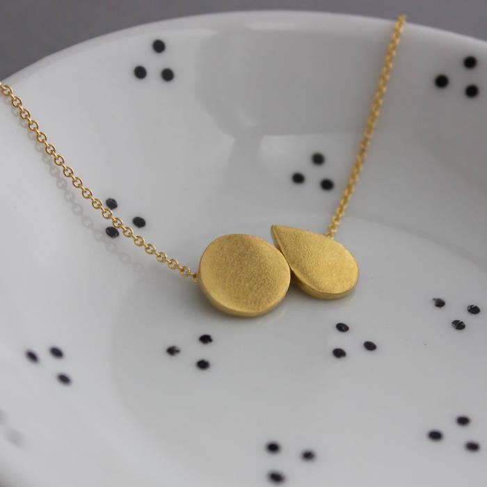 Mabel Necklace Gold Ls