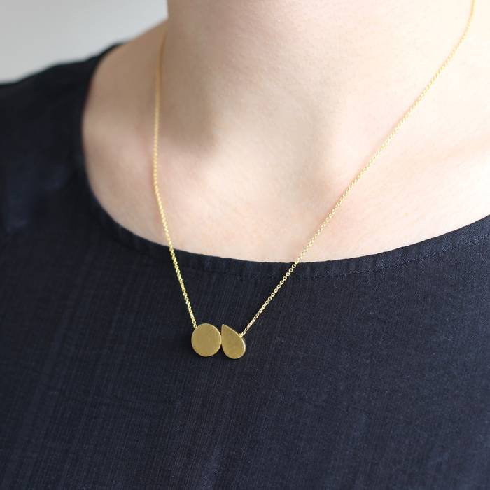 Mabel Necklace Worn
