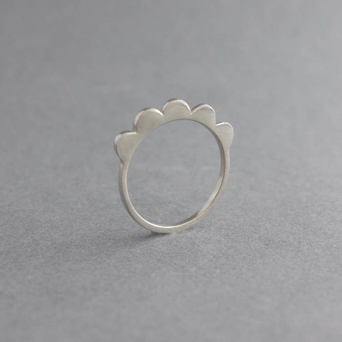 Maggie Ring Silver