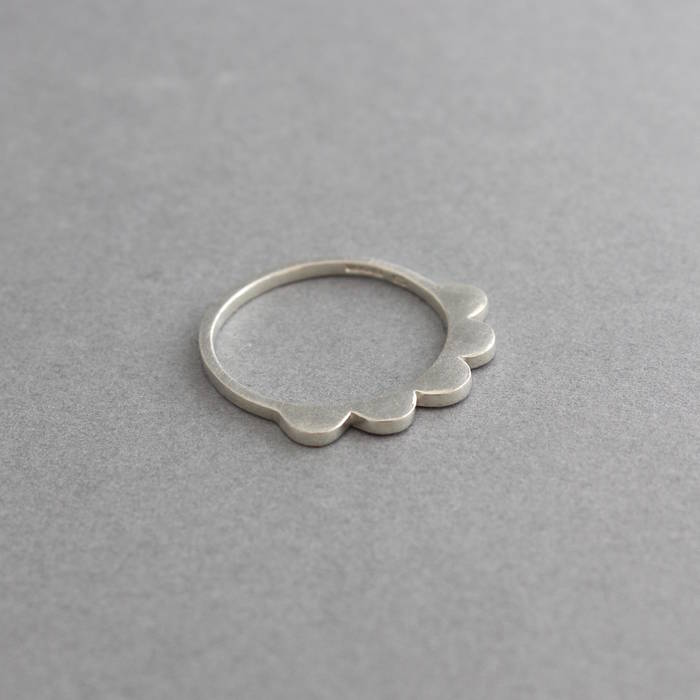 Maggie Ring Silver Side