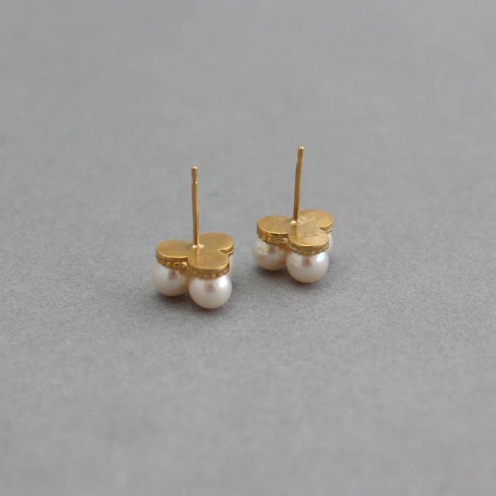 Margot Studs Back Gold