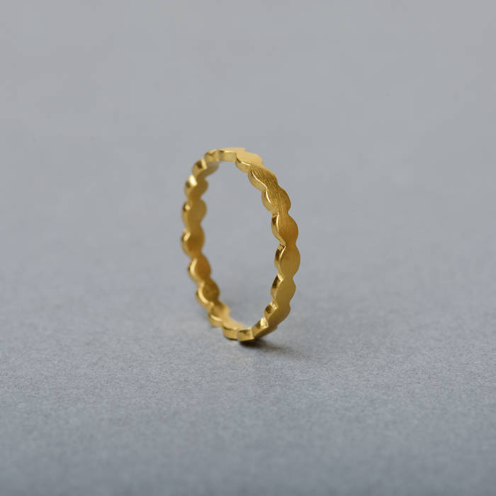 Rosa Ring Fine Gold