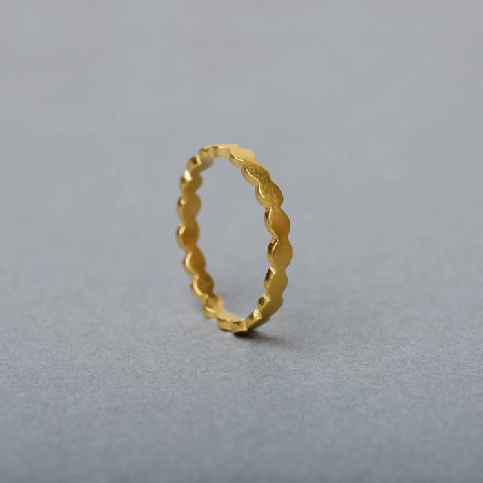 Rosa Ring Fine Gold