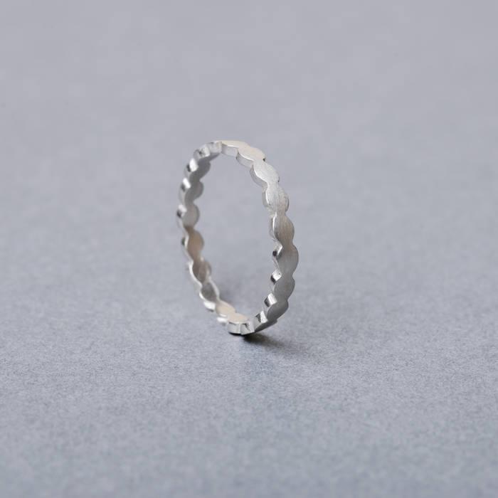 Rosa Ring Fine Silver