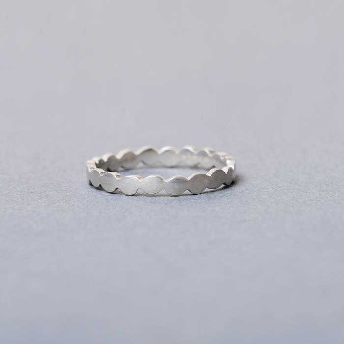 Rosa Ring Fine Silver Side