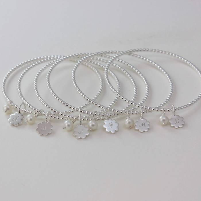 Bridesmaids Pearl Bracelets