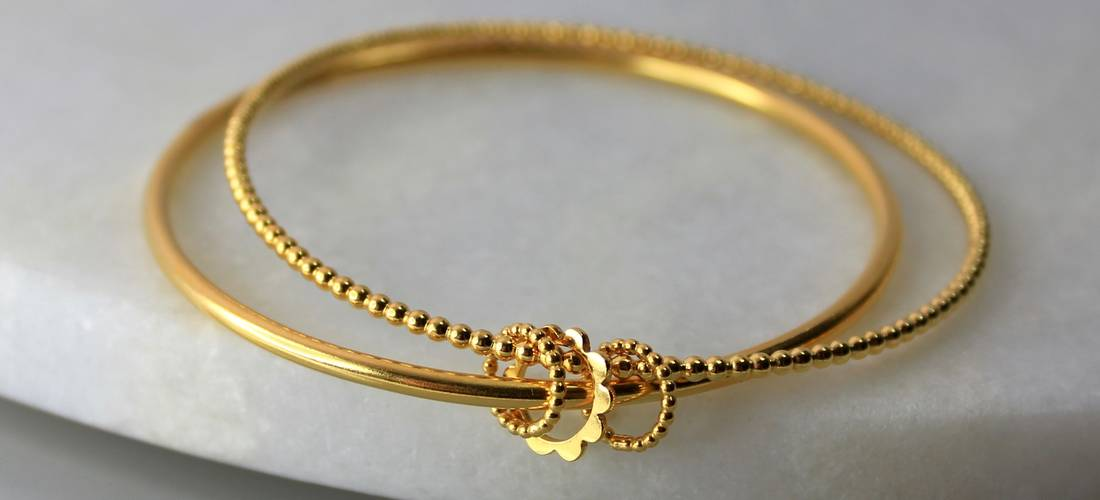 Betty Bangle Gold Plated