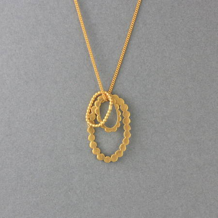 Evelyn Necklace Gold