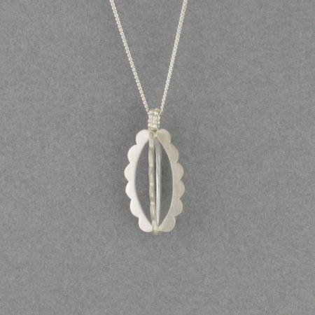 Delilah Necklace Silver