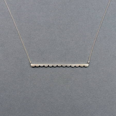 Grace Necklace Silver