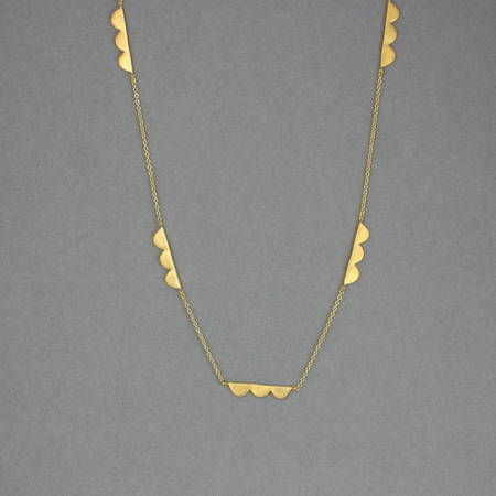 Sylvie Necklace Gold