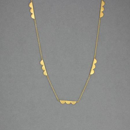 Sylvie Necklace Gold