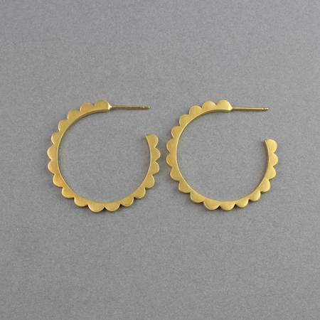 Audrey Hoops Gold Large